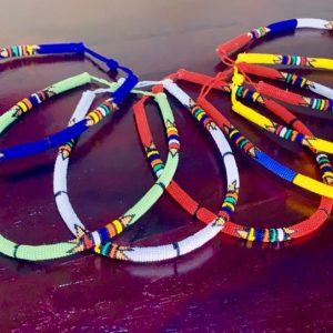 serre-tête en perles sud-africaines